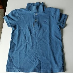 Burberry Blue Child's polo golf shirt